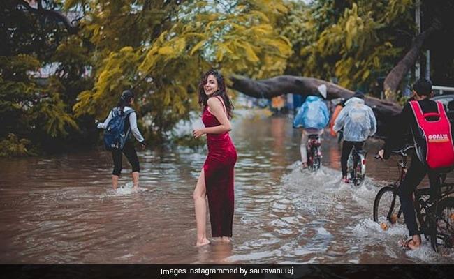 बिहार की बाढ़ का दर्द दुनिया तक पहुंचाने के लिए इस फोटोग्राफर ने किया अनोखा शूट, फोटो हुईं वायरल
