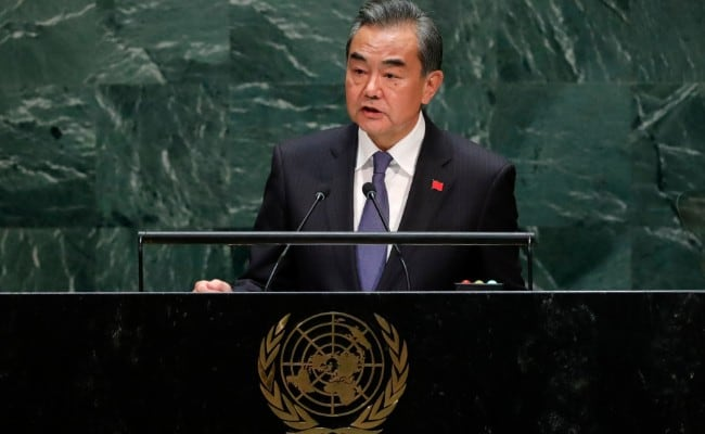 China And India Friends, 'Not Rivals', Says Chinese Foreign Minister