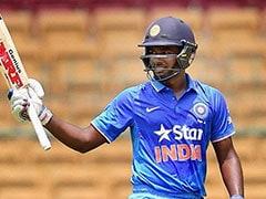 संजू सैमसन ने आतिशी पारी से भारत