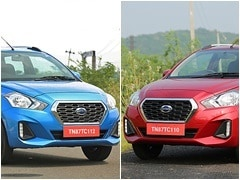 Datsun GO CVT And GO+ CVT Bookings Open For Rs. 11,000