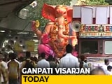 Video : Mumbai Gears Up For Ganpati Visarjan