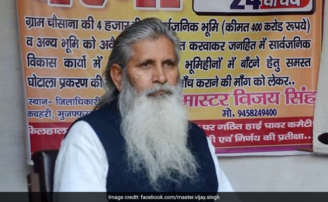 On Dharna Since 1996, UP Man Made To Call Off Protest