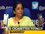 Video : India Bans E-Cigarettes: Cigarettes Next?
