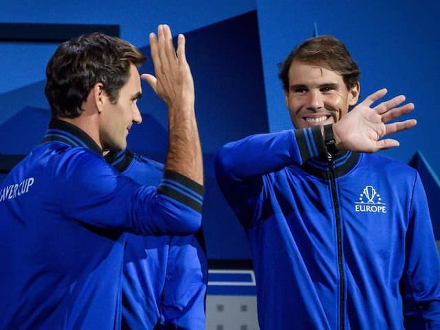 Laver Cup: Roger Federer Coaches Rafael Nadal As Bjorn Borg Looks On In Epic Video. Watch