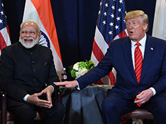 "May Make A ""Tremendous"" Trade Deal: Donald Trump Ahead Of India Visit"