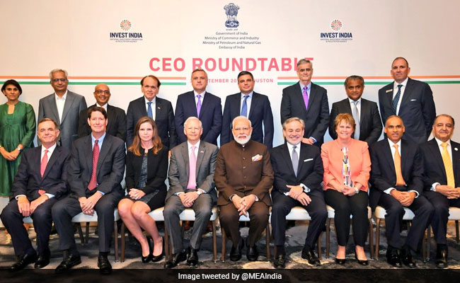 'Howdy, Modi!' Event In US Highlights: PM Modi Meets CEOs From Energy Sector In Houston