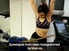 आमिर खान की बेटी इरा खान कर रही थीं एक्सरसाइज, हुआ कुछ ऐसा कि मुंह के बल गिर पड़ीं, देखें वायरल Video