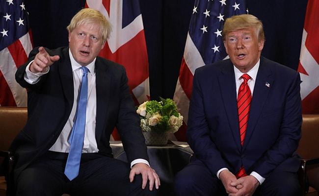 Donald Trump Invites Boris Johnson To White House: Report