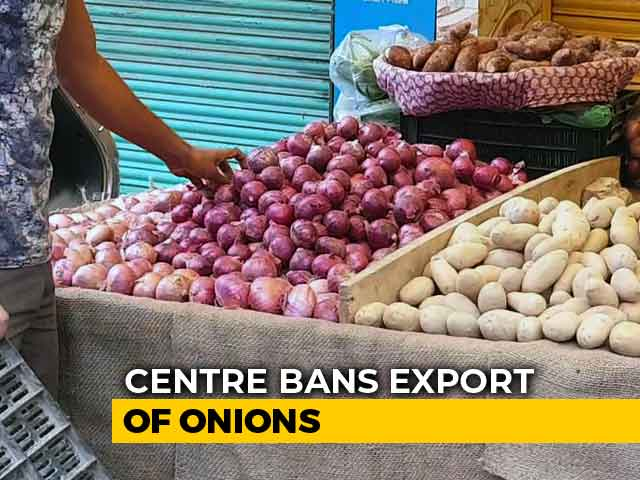 Video : Government Bans Onion Exports