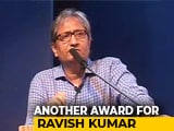 Video : NDTV's Ravish Kumar Wins Gauri Lankesh Award For Journalism