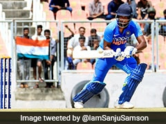 Sanju Samson Donates India A Match Fees To Groundsmen