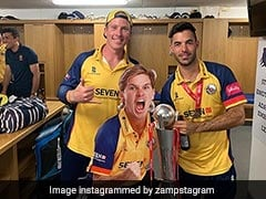 Essex Find Unique Way To Include Adam Zampa In Their Celebration After Vitality Blast Triumph