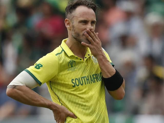 """""""Everything Went Wrong"""": Faf du Plessis To Miss Flight To India, Trashes Airline On Twitter"""