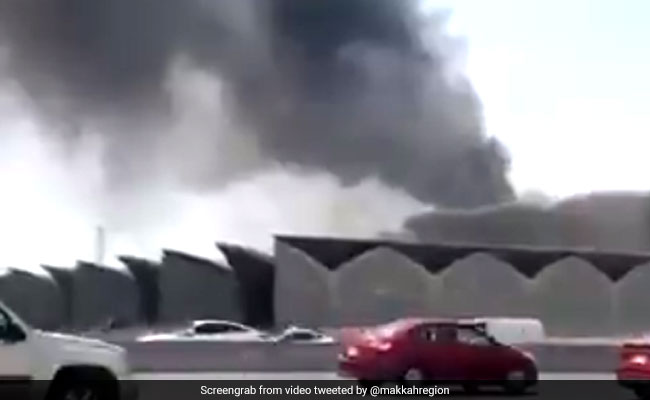 Fire at Saudi high-speed train station injures at least five