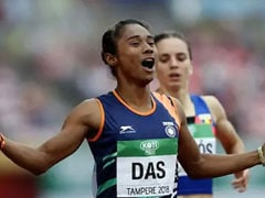 Hima Das Named In World Championships Team As Relay Runner