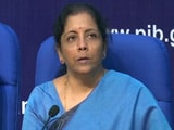 Video : Rs. 10,000 Crore Funding To Boost Affordable Housing: Nirmala Sitharaman