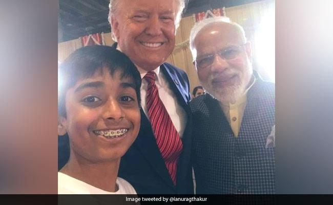 'Memorable Moments': Boy Clicks Selfie With PM Modi, Trump