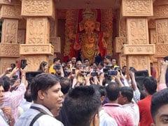 At Trinamool MLA's Ganesh Puja, BJP Top Guns Are Chief Guest