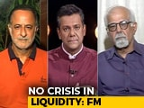Video : Finance Minister Meets Private Banks, Says Liquidity Not A Crisis