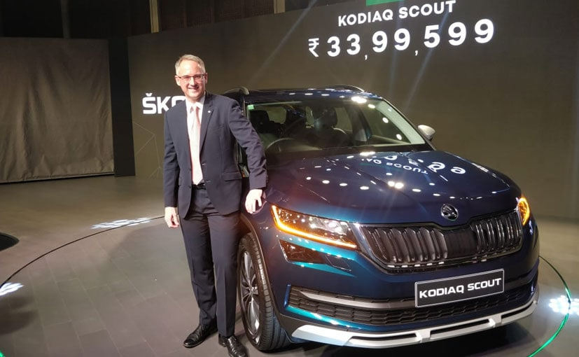The Skoda Kodiaq Scout is an off-road focused variant in the Kodiaq range.