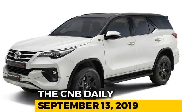 Video : Toyota Fortuner TRD, TVS Jupiter Grande, Kawasaki Ninja 400