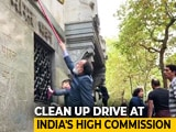 Video : After London Protest, Indians Unite To Clean High Commission Premises