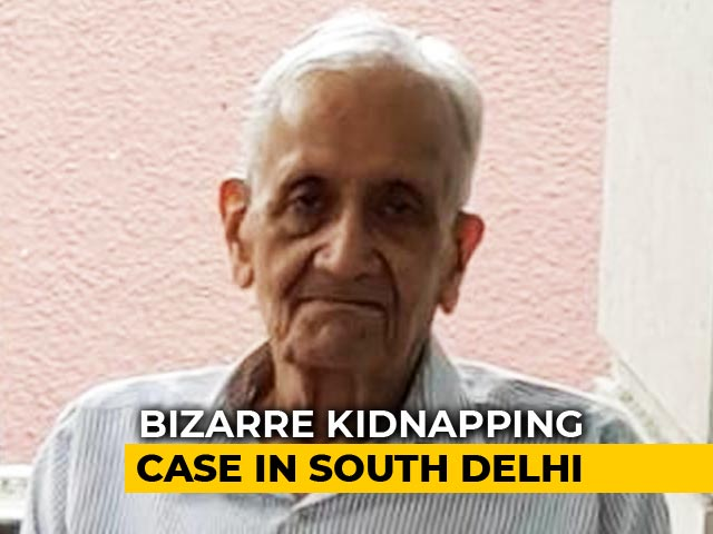 Video : Man, 91, Kidnapped By Help From South Delhi Home. He Was Hidden In Fridge