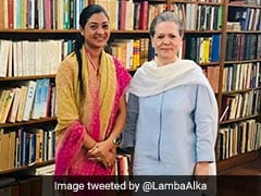 AAP's Alka Lamba Meets Sonia Gandhi, Fuels Speculation Of Joining Congress