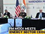 "Video : ""Impossible To Come To Houston And..."": PM Meets Energy Sector CEOs"
