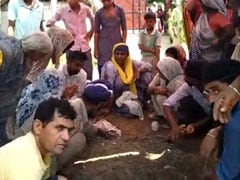 Bizarre Ritual To 'Save' Electrocuted Man In UP On Camera