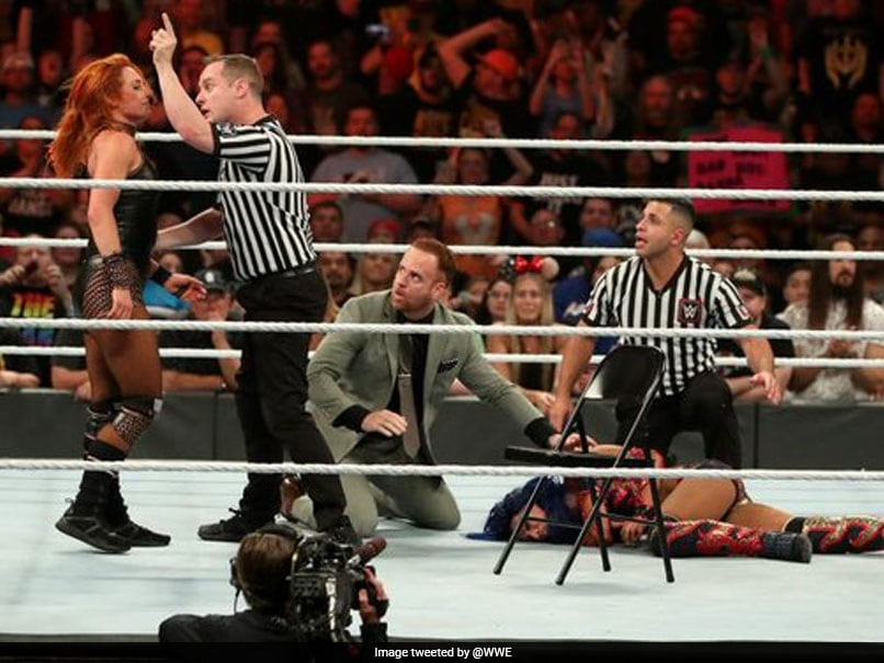 WWE Star Becky Lynch Fined $10,000 For Accidentally Hitting Referee With Chair