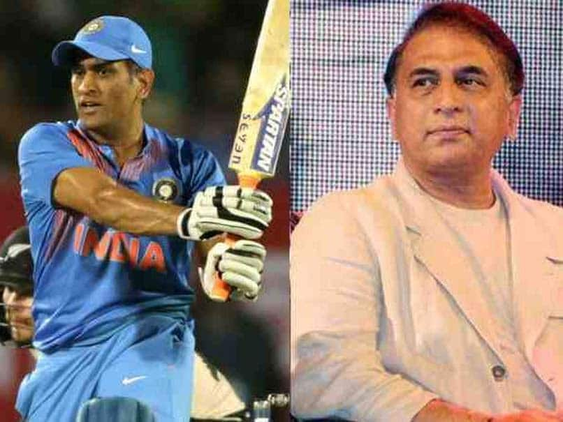 Thats Why its Time for MS DHONI to call it a day, Says Gavaskar