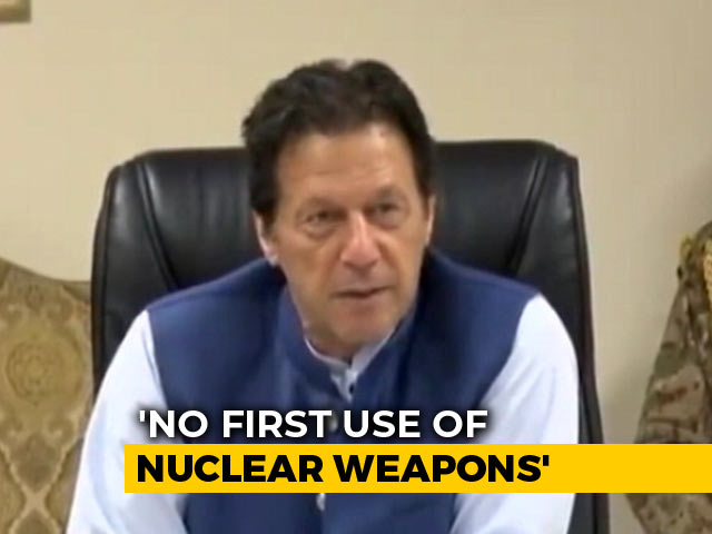 Video : Won't Use Nuclear Weapons First, Says Imran Khan Amid Tension With India