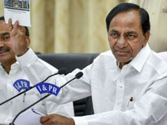 """Brandy Hyderabad"": Telangana BJP President Blasts KCR Government"