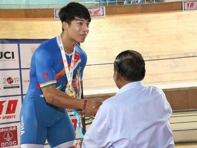 Indias Ronaldo Laitonjam Sets Junior Asian Cycling Record
