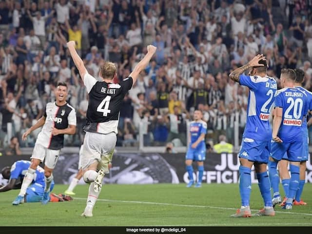 Juventus F.C won the match by 4-3 Goals