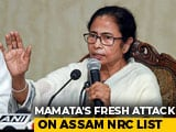 "Video : ""Wasn't Aware Of Full NRC Fiasco"": Mamata Banerjee Hits Out At Centre"