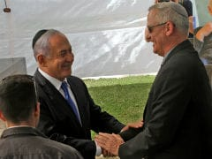 Israel's Netanyahu, Rival To Explore Unity Government In First Meeting