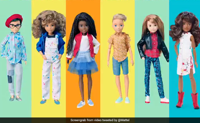 Mattel Maker Of Barbie Launches Line Of Gender Inclusive Dolls
