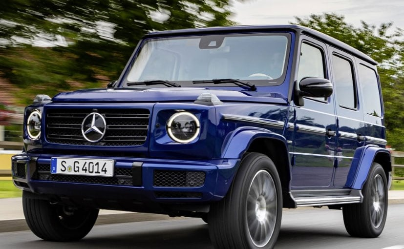 The Mercedes-Benz G 350d will be launched for the first time in India.