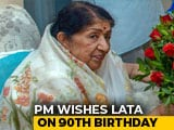 "Video : ""India's Image Changing Due To PM Modi"": Lata Mangeshkar On <i>Mann Ki Baat</i>"