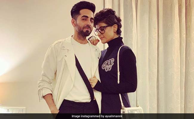 Will The Real Dream Girl Please Stand Up In This Pic Of Ayushmann Khurrana And Tahira Kashyap?
