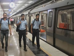 Man Caught With Three Bullets At Delhi Metro Station In Ghaziabad