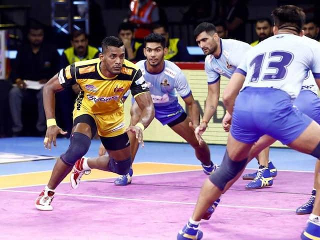 PKL 7: Telugu Titans Edge Tamil Thalaivas, Haryana Steelers Thrash Puneri Paltan