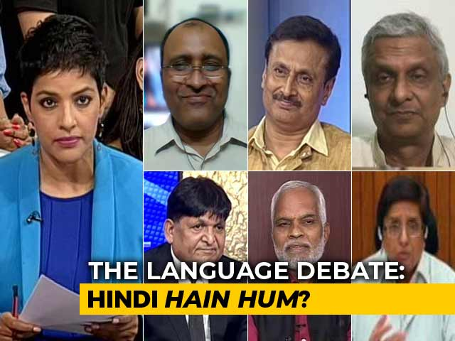 Video : We The People: Should Hindi Be Made India's National Language?