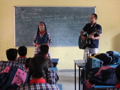 On Teachers' Day, Oxford University Press Employees Teach At Charity Schools