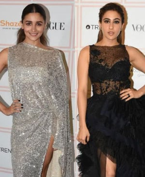Alia, Sharmila, Sara, Malaika Light Up Red Carpet