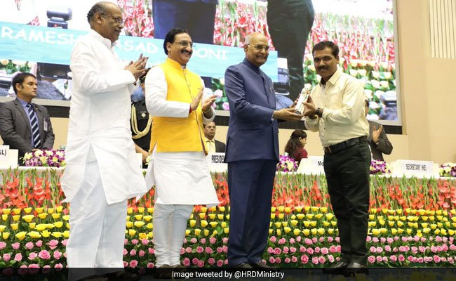 46 Educators Conferred National Teachers' Award