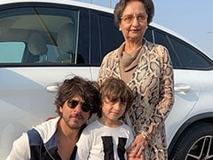 Shah Rukh Khan And AbRam Look Just Too Cute In This Birthday Wish For His Mother-In-Law Savita Chhibber