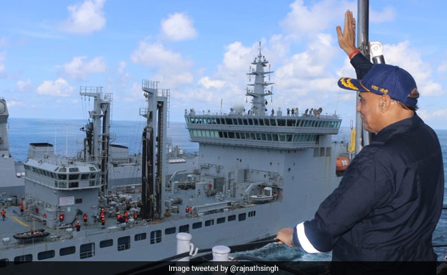 Rajnath Singh Explains Why Navy's Second Strike Capability Is Significant